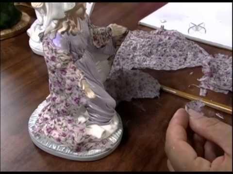 Mulher.com 26/11/2012 Célia Bonomi - Decoupage sobre gesso sagrada família 2/2