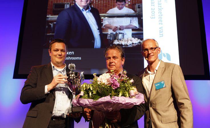 Jan Klerken van Scelta Mushroom Versmarketeer 2013