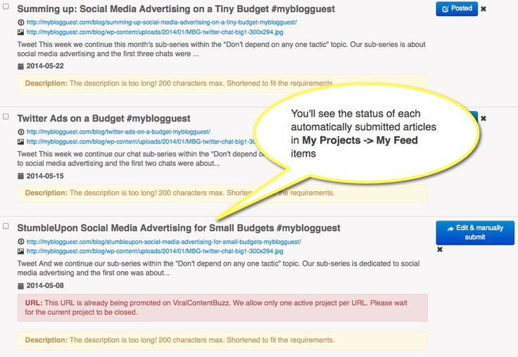 Get Your Content Re-Tweeted, Pinned and Shared on Auto-Pilot: ViralContentBee RSS Feature