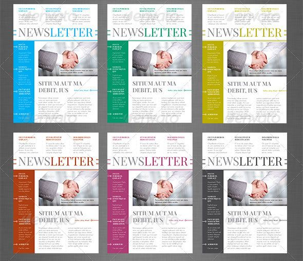 82 best Newsletters images on Pinterest | Layout design, Newsletter ...