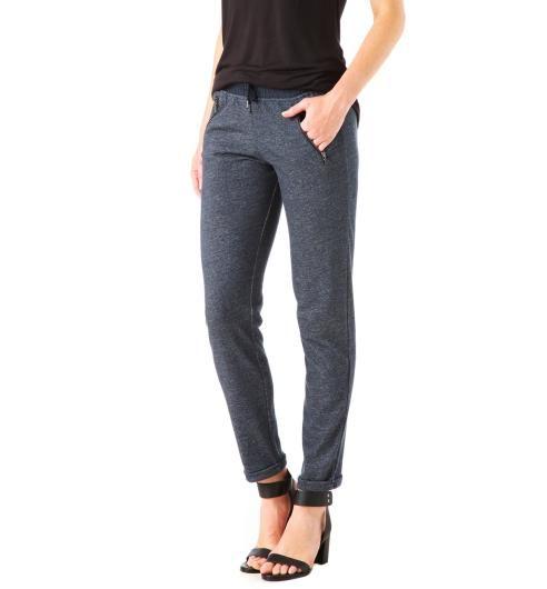 Pantaloni jogging blu marino - Promod