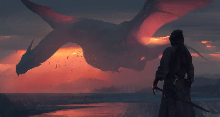 ArtStation - Dragon Sketch, Swang .