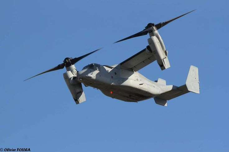 MV-22 Osprey and a KC-130 Hercules from the US Marine Corps at Marseille airport. Feb 2015