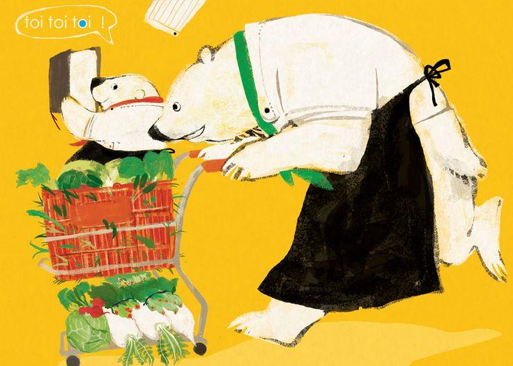 おかいもの! by ももろ   CREATORS BANK http://creatorsbank.com/momoro66/works/169371