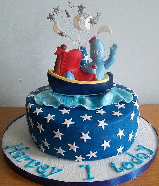 Iggle Piggle Cake by simplysweetcakes, via Flickr