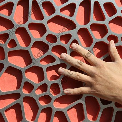 Art Diffusion HSPVT architectural carved wall panel by Interlam