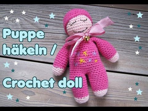 Einfache Puppe häkeln / CROCHET DOLL [eng sub] – YouTube