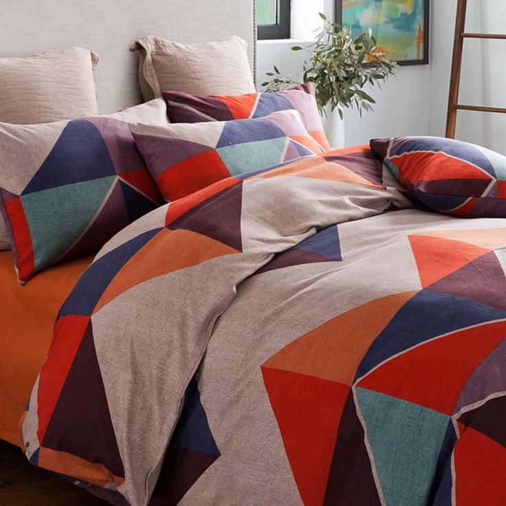 Find More Bedding Sets Information about Picasso Puzzle CHCCMRS BRAND NEW Fashion Sanding Egyptian Cotton King Queen Size Plaid Bedding Sets for Home Deco,High Quality bedding set 3d,China bedding set black Suppliers, Cheap bedding sets on sale from E-COSYLIFE AESTHETIC HOME TEXTILE on Aliexpress.com