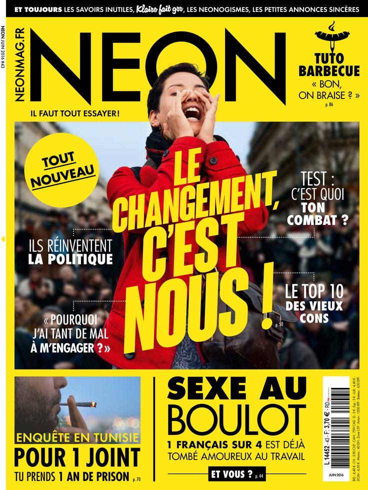 Magazine NEON n°43 Juin 2016