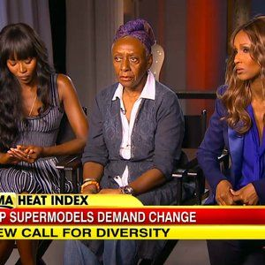 "Previously, Bethann Hardison has mounted a campaign for increased diversity in runway shows. Her letters to CDFA showed an egregious lack of non-white models. Today, Hardison talked to Good Morning America with supermodels Iman and Naomi Campbell. Namely, they're not calling anyone the R word, exactly: ""Nobody is calling these designers racist,"" says Iman, ""but the act itself is racism.""-Shenwan W"