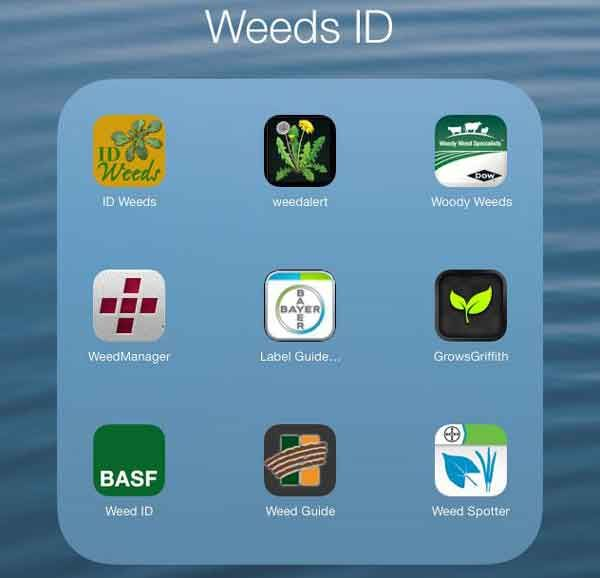 Agriculture Apps list from Kansas State - have been looking for a weeds id app... Thank you