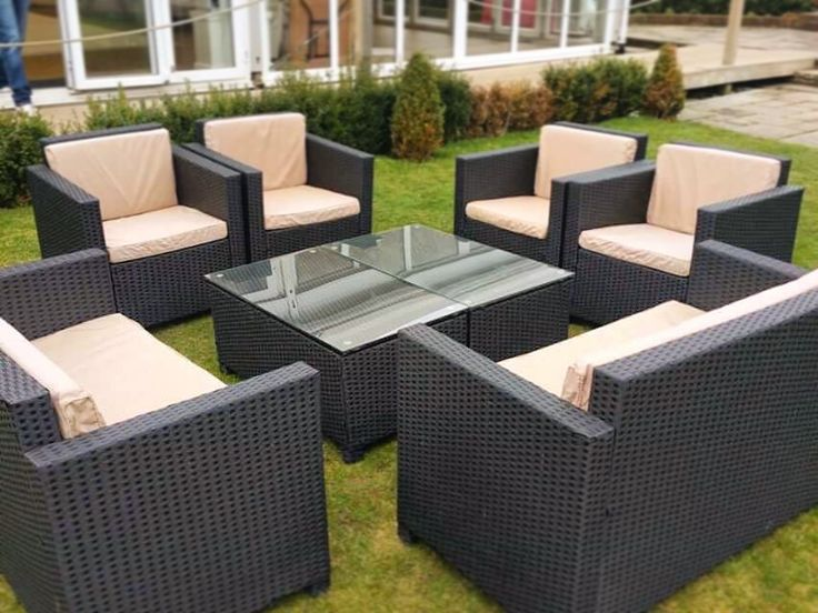 We re starting to get some better weather now  and so today our Rattan. 16 best Garden Furniture images on Pinterest   Garden furniture