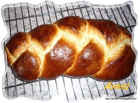 """Сдобное тесто на закваске и """"Плетёнка"""" из него   Выпечка хлеба и не только..."""