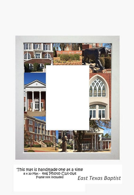 East Texas Baptist University Picture Frame Photo Mat Unique Gift ...