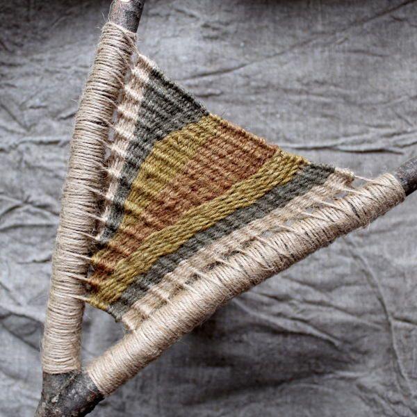 """Тары-Бары-Сыктывкары: Пробная """"рогатка"""" или ткачество на ветках"""