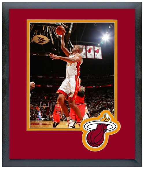 Shane Battier 2013-14 Miami Heat - 11 x 14 Framed/Matted Photo