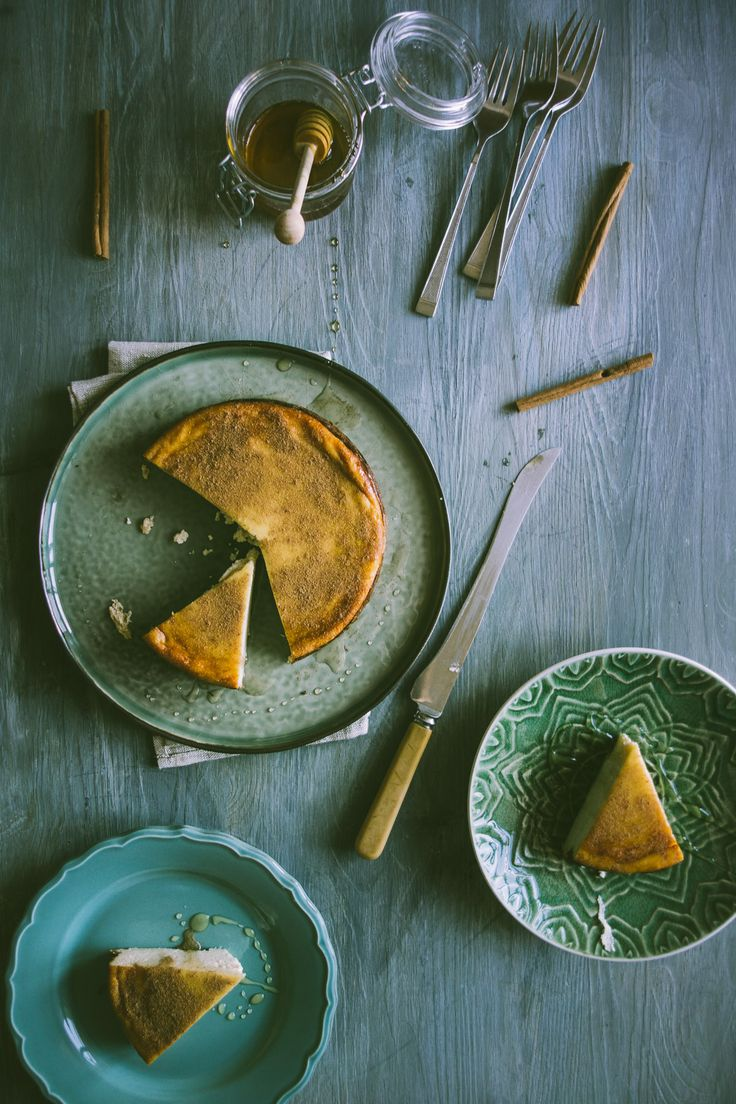 melopita-Greek honey pie