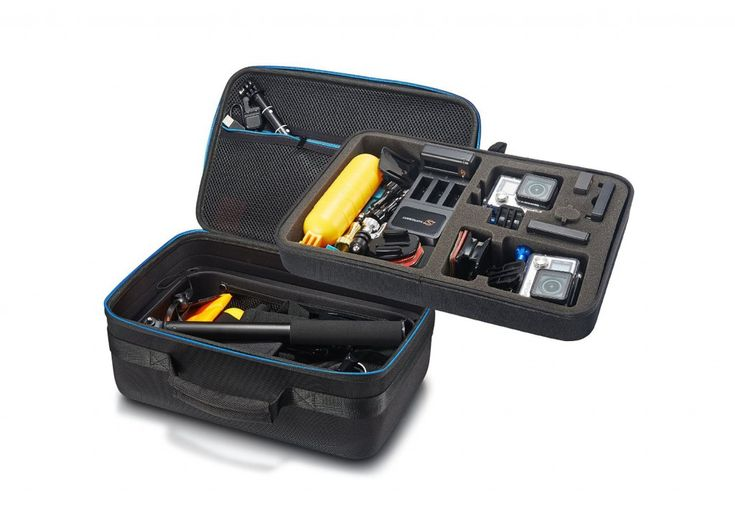 GoPro cameras have protective housings but they don't offer enough protection as the cases do for my camera and accessories. Check out the best GoPro carrying cases Here!