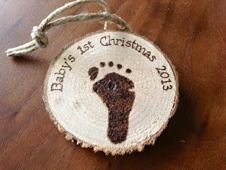 The Pampered Baby: Baby's 1st Christmas: Gift Ideasm4keshiftmichelle customizable ornament