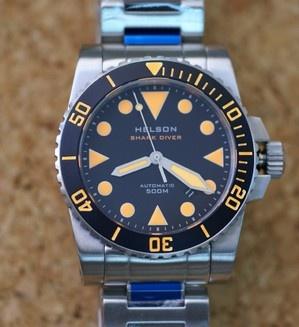 Shark Diver 42mm - Helson Watches | Watches | Pinterest ...