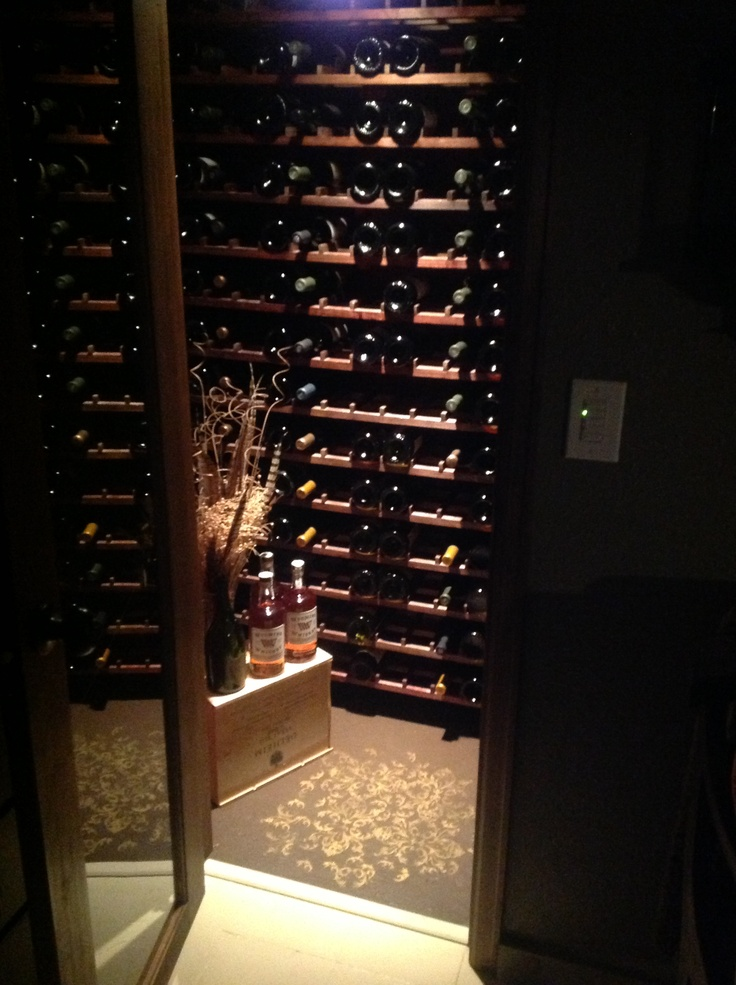 33 best led bottle display images on pinterest bar for Turn closet into wine cellar