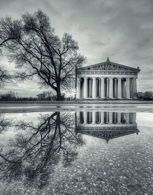 The Parthenon  At Centennial Park in Nashville TN