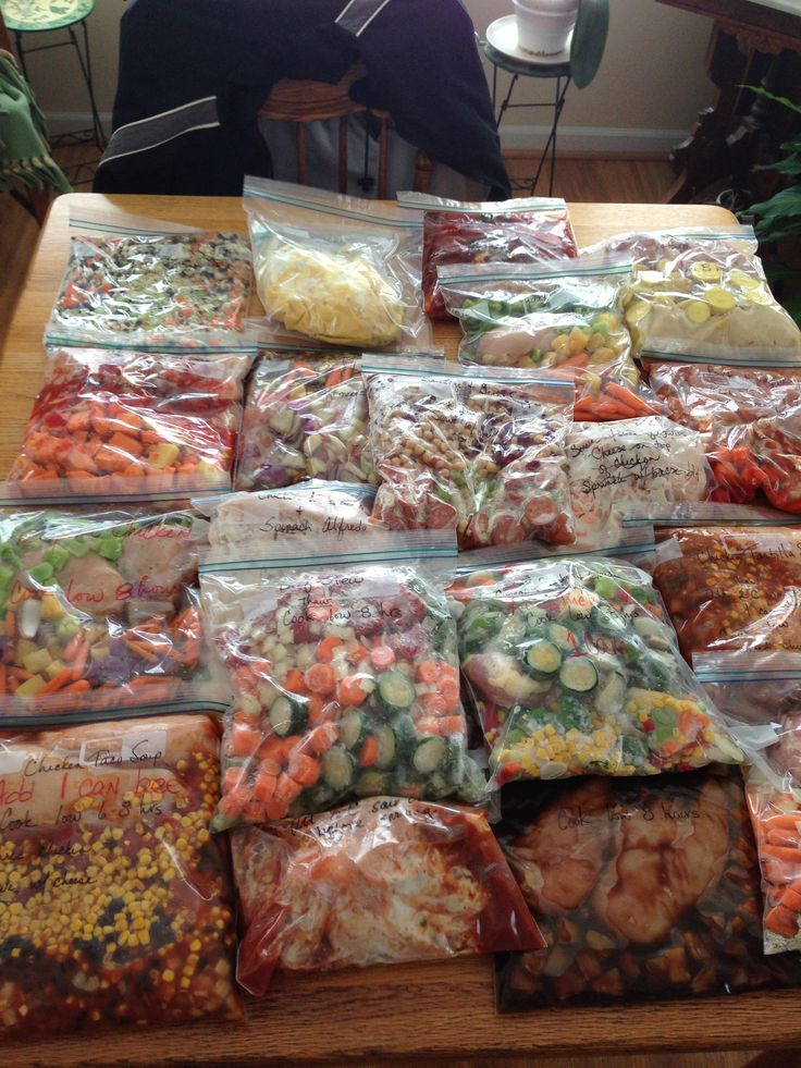 19 crockpot freezer meals for $120!!