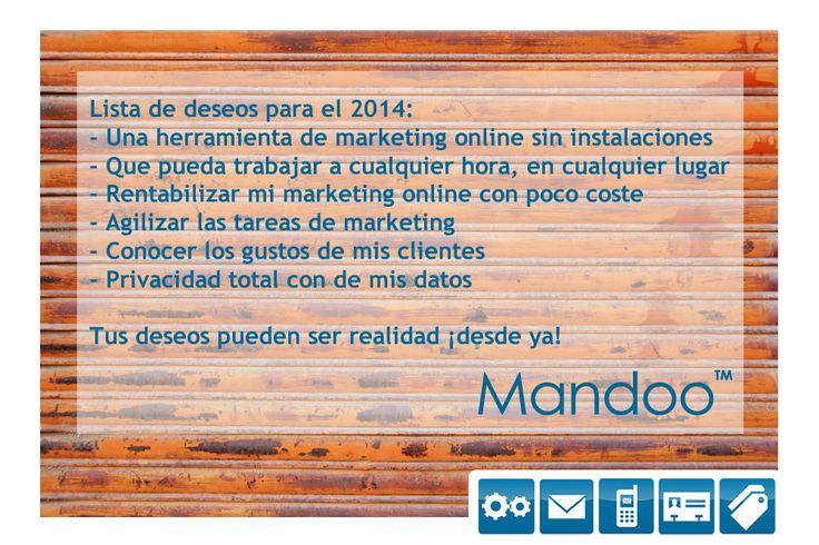 Tus #deseos se cumplen con #Mandoo ¡desde ya!
