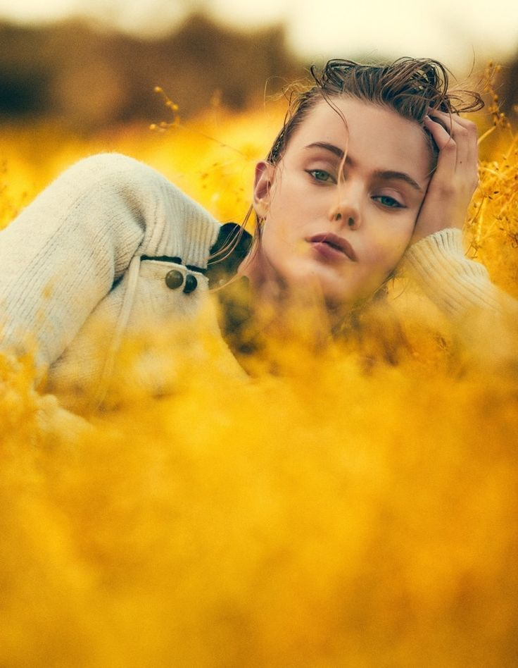 Frida Gustavsson Wears Outdoors Fashion in Editorial for ELLE Sweden - Fashion Gone Rogue
