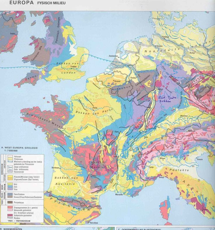 Geologic Map Of Europe.36 Best Geologyㆍ Geophysics Images On Pinterest Maps Nature And