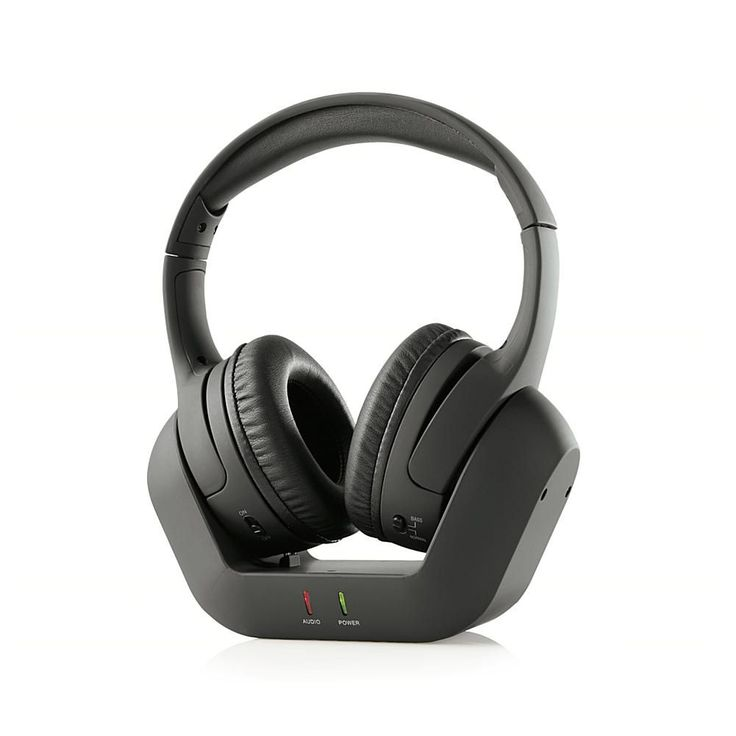 Brookstone Digital Wireless TV Headphones with Charging Base