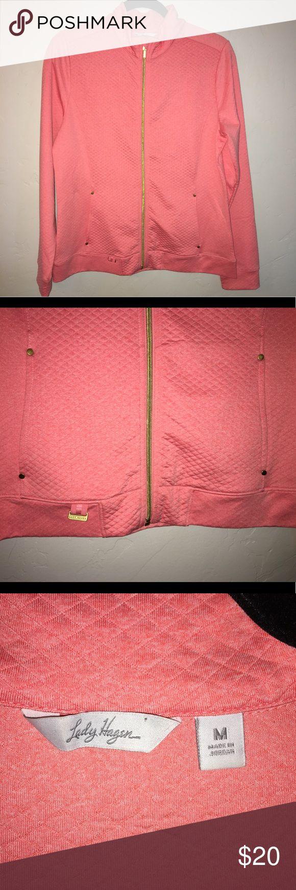 Lady Hagen Pink Running Jacket Size Medium EUC lady hagen Jackets & Coats