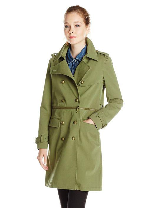 Rebecca Minkoff Women's Melissa Convertible Trench Coat