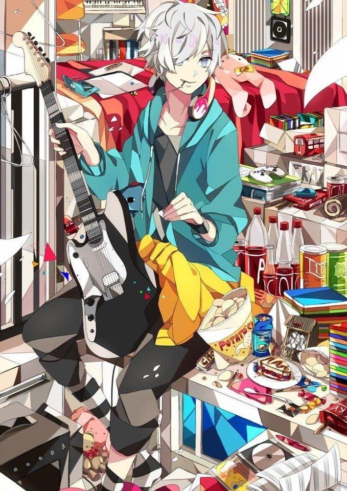 Anime boy anime manga games pinterest - Anime gamer boy ...