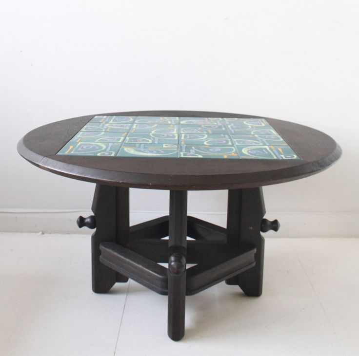A 1960s Adjustable Height Coffee Table By Guillerme U0026 Chambron For Votre  Maison, For Sale