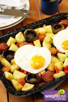 Atkins Diet Recipes: Healthy Big Breakfast. #HealthyRecipes #DietRecipes #WeightLoss #WeightlossRecipes weightloss.com.au