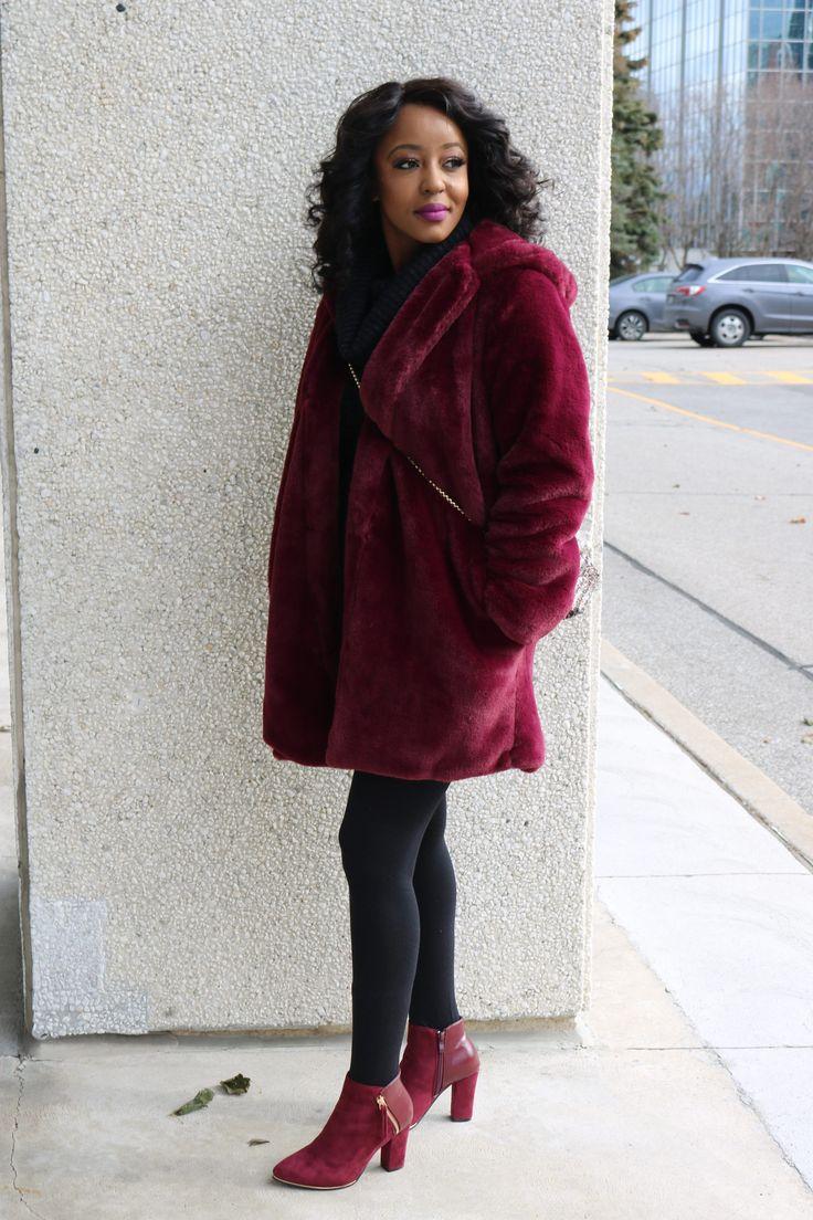 Faux fur coat - The perfect coat for fall/winter 2017