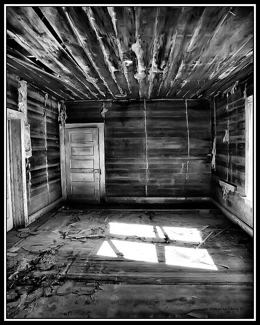 Abandoned Places Of Texas: Abandoned House Snyder Texas