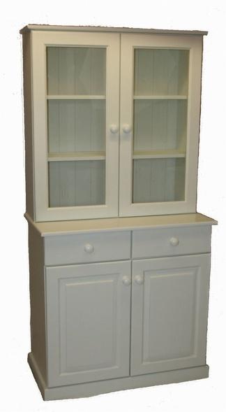 Glazed painted kitchen