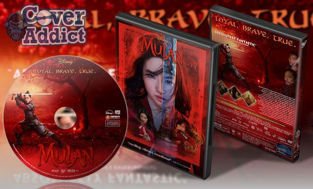 Mulan 2020 Dvd Cover In 2020 Dvd Covers Mulan Cover