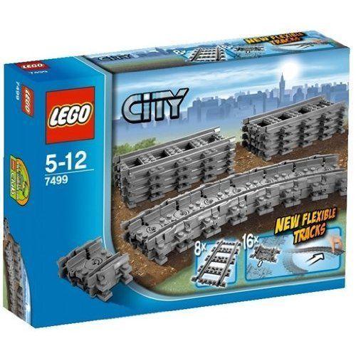 NEW LEGO City 7499 Flexible Tracks Set - Make your Trains go Even Farther #LEGO