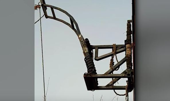 Drug Catapult Found On The U.S. – Mexico Border Wall | American Military News