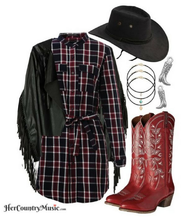 Country Outfit Western Look at http://HerCountryMusic.com