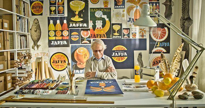Erik Bruun, a great graphic artist!