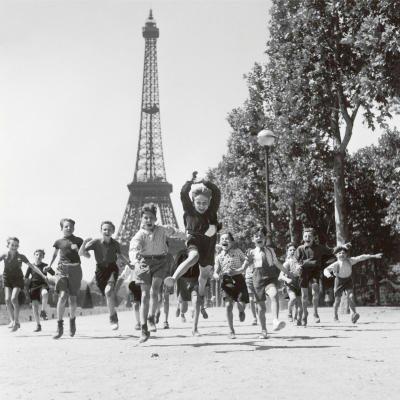Les jardins du Champs de Mars// Robert Doisneau