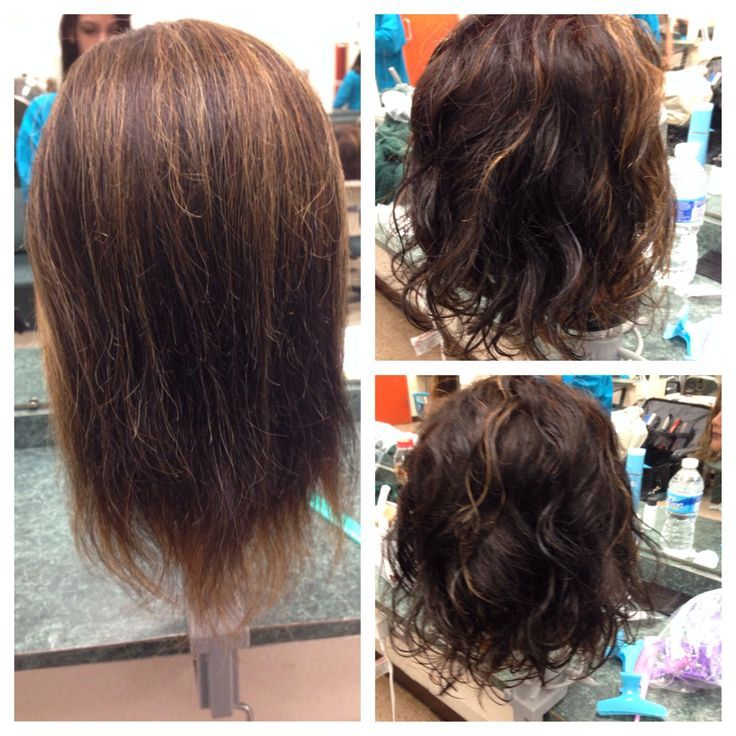 Pin By Bonnie Bailey On Hair In 2019 Short Permed Hair