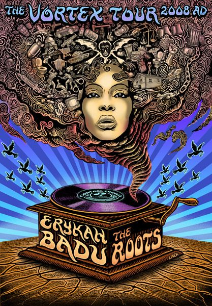 Erykah Badu + The Roots - 2008 - Emek