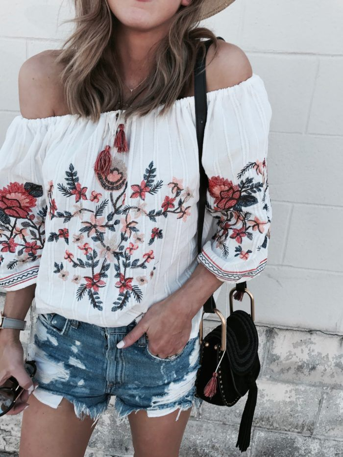 Embroidered Top & FAQs | Cella Jane