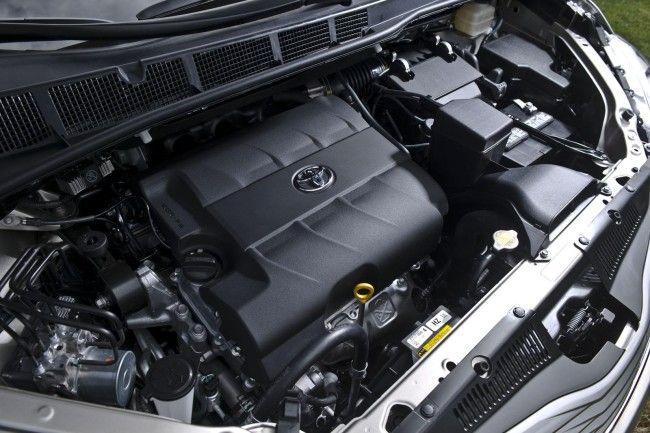 2015 Toyota Sienna 3.5-Liter V6 Engine