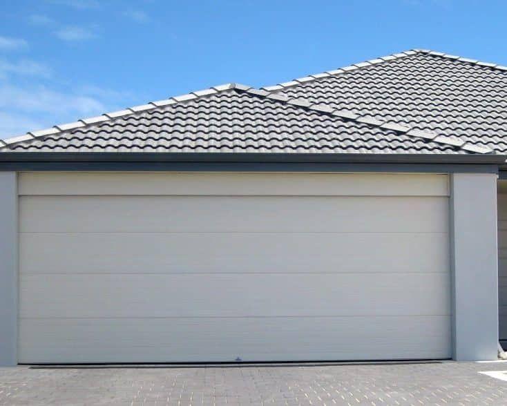 Colorbond Sectional Garage Door Series Sectional Garage Doors Garage Doors Centurion Garage Doors